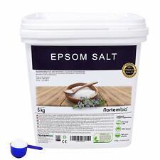 Sel d'Epsom 6 Kg Source concentrée De Magnésium Sel 100% Naturel Bain et Soins