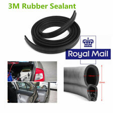 3M O U Channel Rubber Car Door Trunk Seal Strip Noise Edge Trim UK Stock !