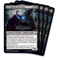 4x Syr Konrad, the Grim - Throne of Eldraine - NM - Playset - English - MTG