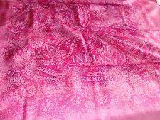 Hermes Sciarpa di seta, Indiano Polvere favoloso con Hermes Carrier Bag. NUOVA