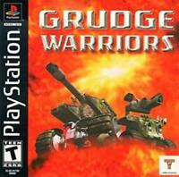 Grudge Warriors Playstation Game PS1 Used Complete