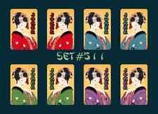 Mah Jongg Jong Mahjong Joker Stickers - Set #511   ** Free Shipping **