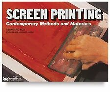 B000NKRLY0 Screen Printing: Contemporary Methods and Materials