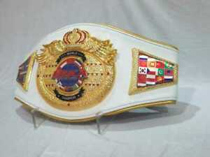 "International Sports Karate Association""wrestling Belt Replica"