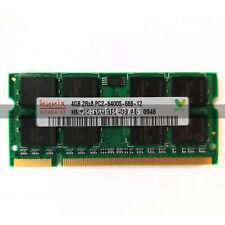 Hynix 4GB DDR2 PC2-6400 PC6400 800Mhz SoDimm 200pin Laptop Memory Ram Non-ECC
