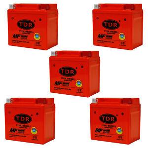5 PCS YTX5L-BS YTX5LBS Motorcycle GEL 12V 5AH Battery Replace MG5L-BS MBTZ7S
