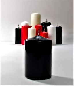 Pillar & Church Candles All Sizes & Colors! Set of 5