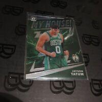 2019 Jayson Tatum Optic My House Insert SP Boston Celtics NBA