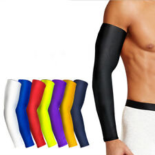 Outdoor Stretchy Cycling Running Sport Arm Sleeve Cover Warmer UV Sun Protection