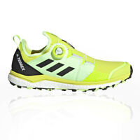 adidas Mens Terrex Agravic Boa Trail Running Shoes Trainers Sneakers Yellow