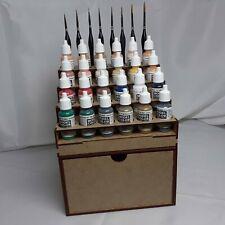 Etagère peintures Vallejo paints rack 1 deep drawer Storage Army Painter wargame