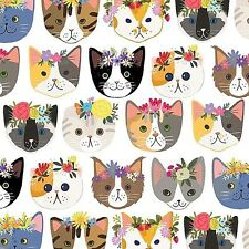 "Cat / Kitty Tissue Paper # 332 ..10 large sheets  - 20"" x 30"""