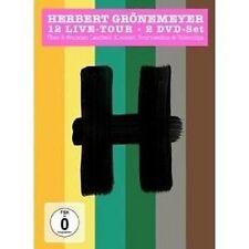 """HERBERT GRÖNEMEYER """"12 LIVE"""" 2 DVD NEU"""