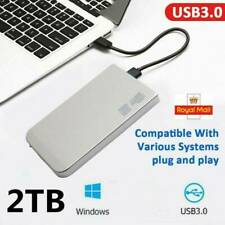 2TB HDD USB3.0 External Hard Drive Externo HD Disk Storage Devices Laptop