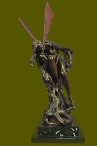 Hand Made Bronze Sculpture Magical Masterpiece Classic Art by Vitaleh Figurine