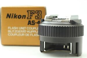【TOP MINT in BOX】 Nikon AS-4 Flash Unit Gun Coupler for Nikon F3 from JAPAN #45