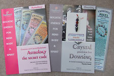 PISCES - Handmade birthstone dowsing pendulum plus  2 great books & a bookmark