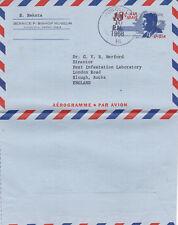 United States 1968 13c Aerogramme Honolulu Hawaii-Slough Uk used Vgc