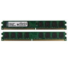 Kingston 4GB 2X 2GB 2Rx8 PC2-6400 DDR2 800Mhz 240Pin DIMM Memory RAM Desktop #59