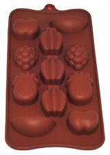 Selecto Bake - Silicone Chocolate Mould Tray Jelly Baking Ice Candy - Fruits