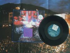 "SIMPLE MINDS LIVE - PROMISED YOU A MIRACLE/BOOK OF BRILLIANT THINGS 10""+ POSTER"