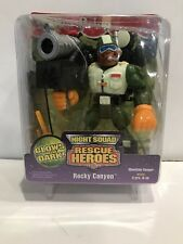 Glow in the Dark  ROCKY CANYON  Fisher Price Rescue Heroes Hero NEW