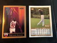 1990-91 SKYBOX Basketball NBA MICHAEL JORDAN CHICAGO BULLS #41 Rare