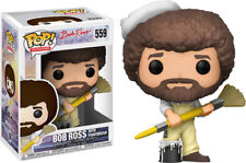 FUNKO POP! TELEVISION: Bob Ross - Bob Ross in Overalls [New Toy] Vinyl Figure