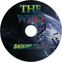 THE WHO GUITAR BACKING TRACKS CD BEST GREATEST HITS MUSIC PLAY ALONG MP3 ROCK