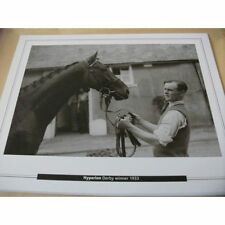 EPSOM DERBY - HYPERION, WINNER IN 1933 : 10X8 PRINT (25cm x 20cm)