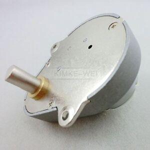 48GE 12V DC 300RPM Pear-shaped High Torque Geared Gear Box Motor New