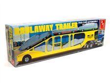 AMT 1193 5-Car Haulaway Transport Trailer plastic model kit 1/25