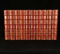1895 10vol Chambers's Encyclopaedia Illustrated Colour Folding Maps