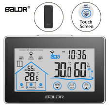Baldr Wireless Weather Station In+Outdoor Hygrometer Thermometer Humidity Sensor