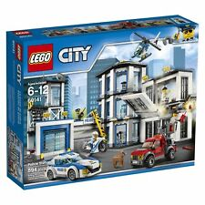 LEGO 60141City Police Station Brand New Factory Sealed 6 Figs 2 Cars Helicopter