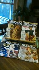 Woodcarving Illustrated Magazines Issues 46,47,48,49, 2008