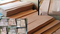 3 pcs 1 Price 50 % off 8/9 oz ( 3.2 / 3.6 mm) VEGETABLE TANNED craft LEATHER