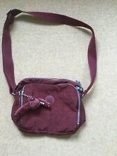 Kipling Brownie Breezer Bag In A Russet Brown - Fab Condition