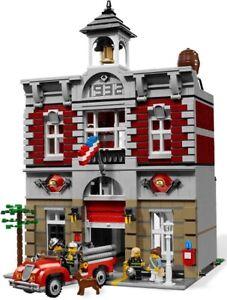 Lego Creator Expert 10197 Fire Brigade Station Modular Building