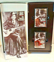 Robert Johnson ROOTS N BLUES The Complete Recordings Cassette Tape Set with Book
