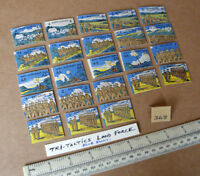 """23 Vintage Gibson Wargame Spare Parts """"Tri-Tactics"""" 1940s/50s Period. (368)"""