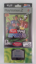 EYE TOY Play Sports Playstation 2 VF NEUF BLISTER RIGIDE Collector