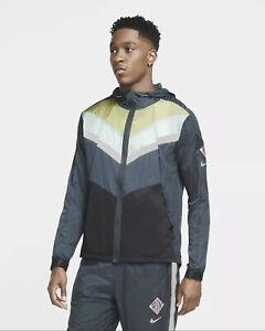 Nike Windrunner Wild Run Jacket (Green) - Medium - New ~ CU5738 364