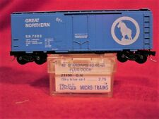 KD 21040 (BLUE LABEL) GREAT NORTHERN 40'Box Car 'Big Sky Blue'#7000 MINT N-SCALE