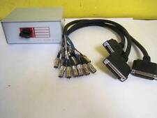 NEW ABCD 4-POSITION CBL20102 DATA SWITCH