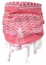 Baby Pali Panno Bianco-Rosso Frange Sciarpa per Bambini