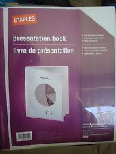staples office presentation binders for sale ebay