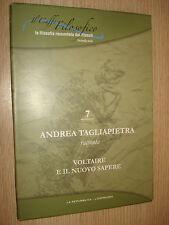 DVD N°7 IL CAFFE' FILOSOFICO ANDREA TAGLIAPIETRA VOLTAIRE NUOVO SAPERE FILOSOFIA