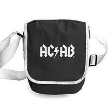 Tasche AC/AB Reporter City Retro Bag Umhänge Schulter schwarz weiß  modisch