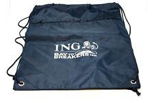 ING BAY TO BREAKER 12K DRAWSTRING BACKPACK BAG CARRY HIKING TRAVEL JOG BLUE B17